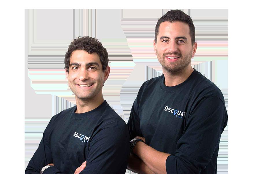Headshot of founders