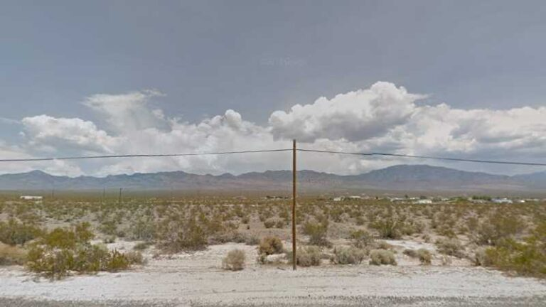 0.12 Acres Lot in Pahrump, NV. APN#030-332-15 Street view of the property