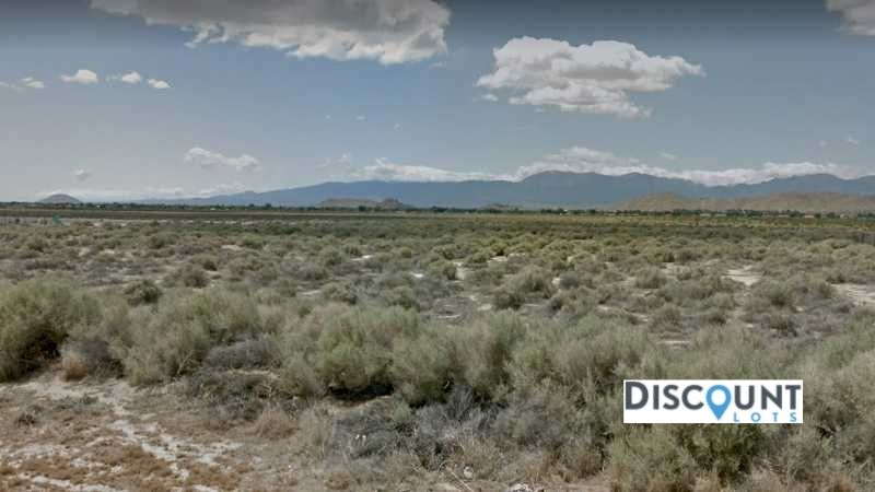 2.55 Acres Lot in Lancaster, CA. APN#3363-011-010 Street view of the property