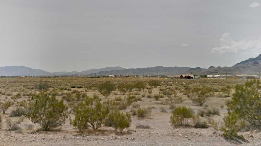 0.88 Acre Lot in Pahrump, NV. APN#030-191-07 Street view of the property