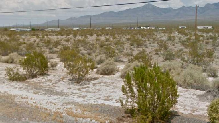 0.16 acres Lot in Pahrump, NV. APN# 030-312-25 Street view of the property