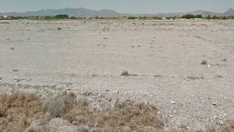 1.87 Acres Lot in Pahrump, NV. APN#035-722-27 Street view of the property