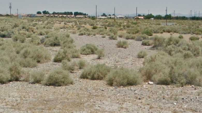 0.09 acres Lot in Pahrump, NV. APN# 038-371-08 Street view of the property
