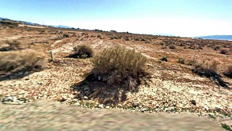 0.2 Acre Lot in Pahrump, NV. APN#042-401-02 Street view of the property