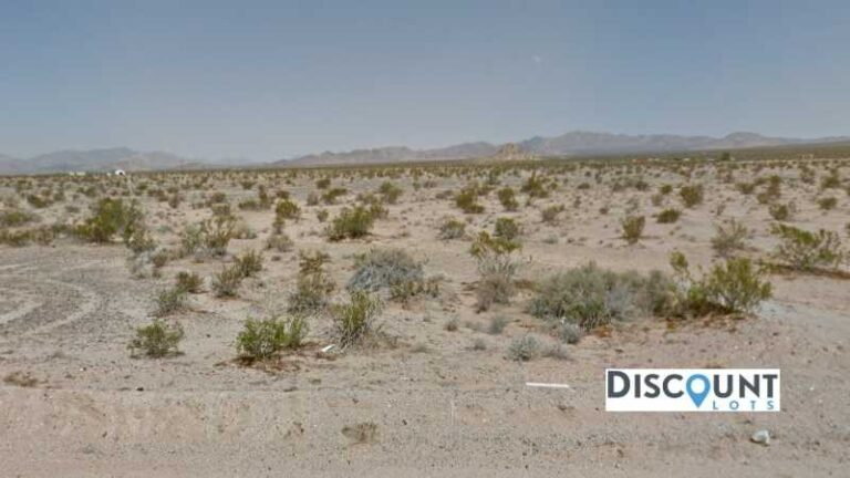 5 acres Lot in Lucerne Valley, CA. APN# 0448-701-28 Street view of the property