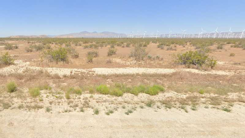 1.25 Acres Lot in Mojave, CA. APN#345-071-53-00 Street view of the property