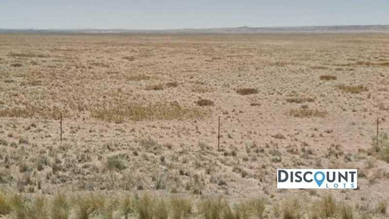 1.25 acres Lot in Holbrook, AZ. APN# 105-55-138 Street view of the property