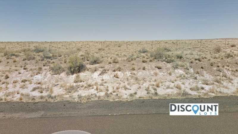 1.27 acres Lot in Holbrook, AZ. APN# 105-56-204 Street view of the property