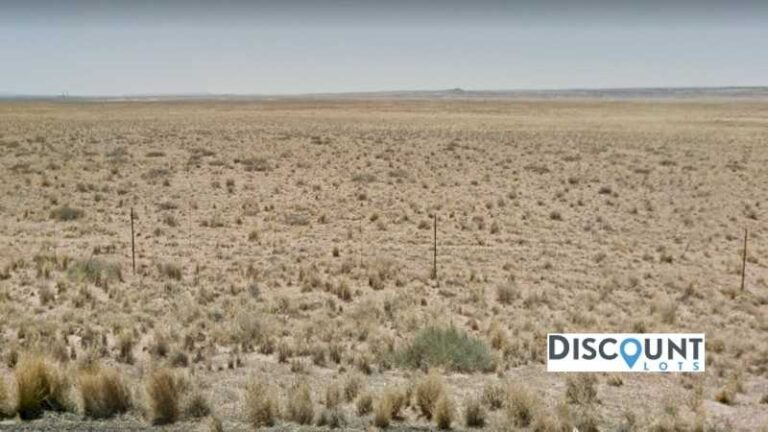 1.26 acres Lot in Holbrook , AZ. APN# 105-56-226 Street view of the property