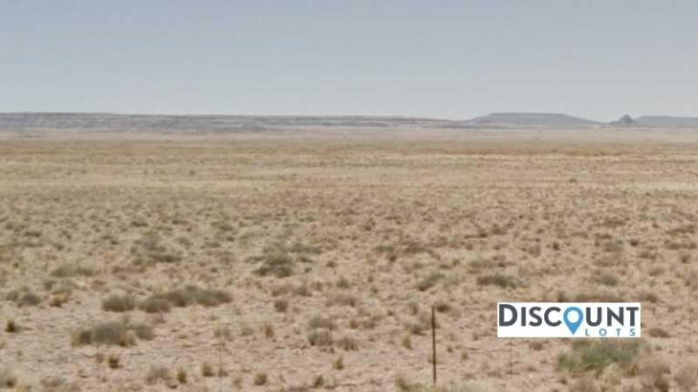 1.26 acres Lot in HOLBROOK, AZ. APN# 105-56-374 Street view of the property
