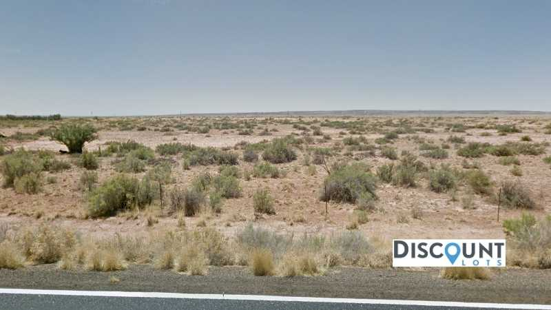 1.32 acres Lot in Holbrook, AZ. APN# 105-58-163 Street view of the property