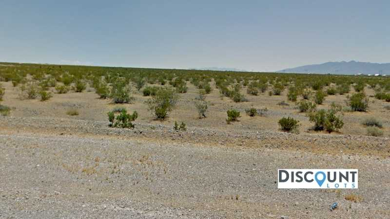 0.46 acre Lot in Pahrump, NV. APN# 32-533-11 Street view of the property