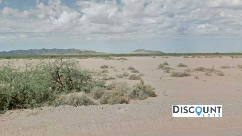 0.19 acres Lot in Eloy, AZ. APN# 402-20-697 Street view of the property