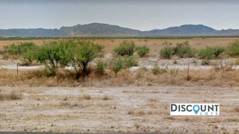 0.26 acres Lot in COCHISE, AZ. APN# 206-07-101 Street view of the property