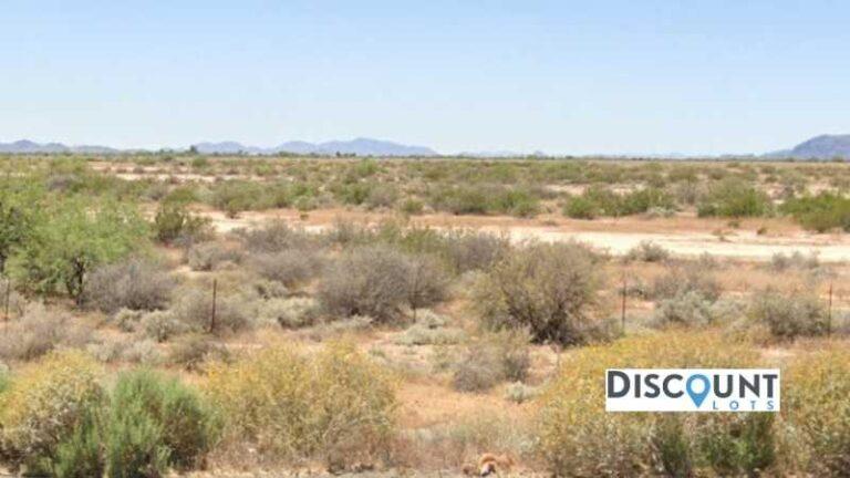 0.32 acres Lot in Casa Grande, AZ. APN# 403-21-019 Street view of the property