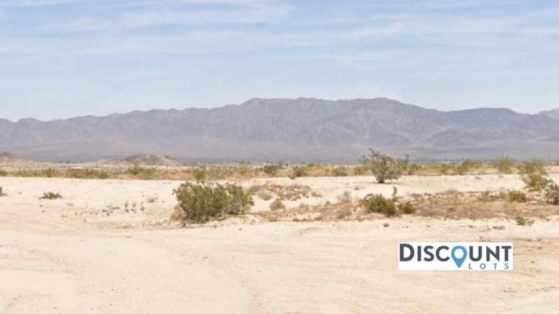 2.5 acres Lot in Twentynine Palms, CA. APN# 0626-311-49-0000 Street view of the property