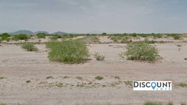 0.19 acres Lot in Arizona City, AZ. APN# 511-62-326 Street view of the property