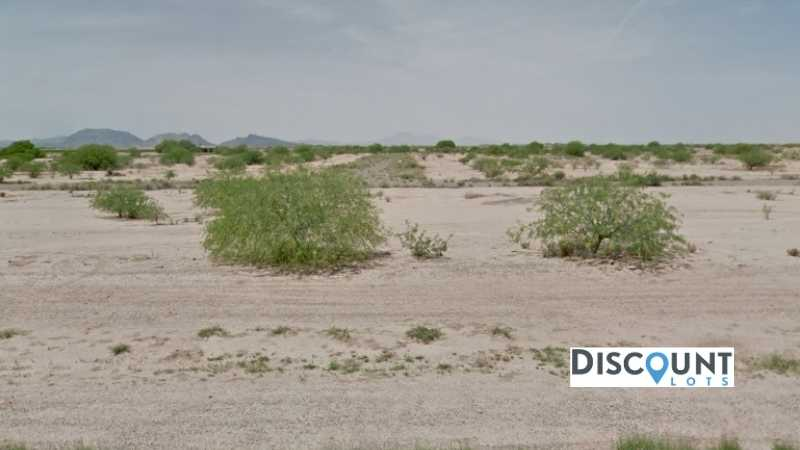 0.19 acres Lot in Arizona City, AZ. APN# 511-62-326 Street view of the property